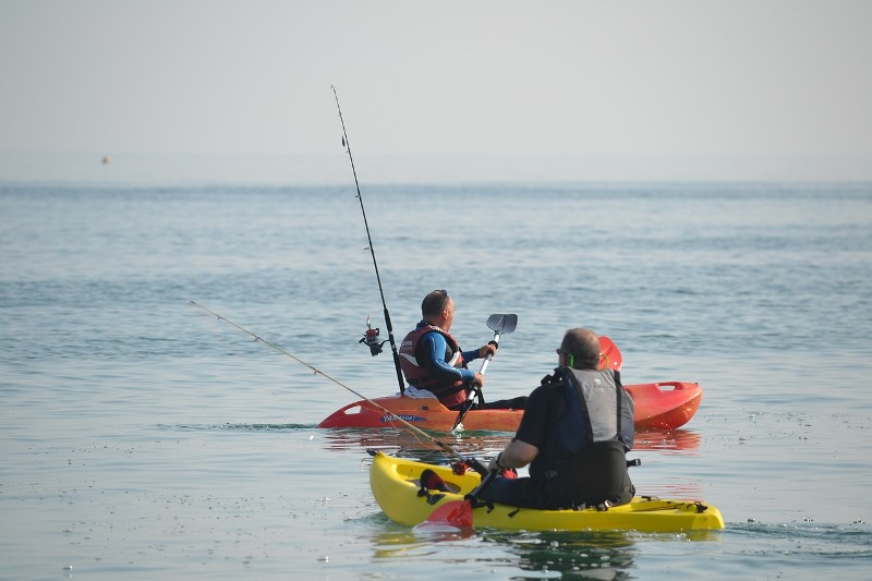 ocean kayak fishing tips